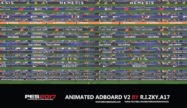 PES17 | Fifa 18 Adboard VOL2 by R.I.ZKY.A17
