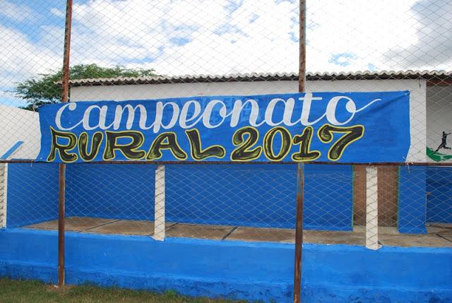 Final do Campeonato Rural de Futebol 2017 de Amparo será realizada neste final de Semana