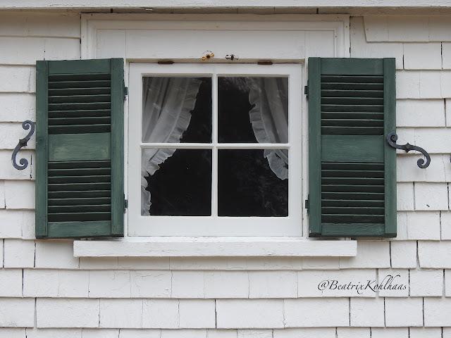Window at Hubbard Cottage