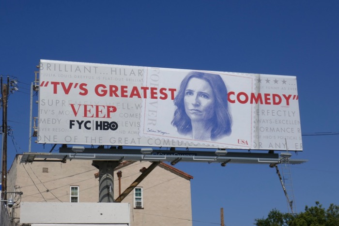 Veep season 7 Emmy FYC billboard