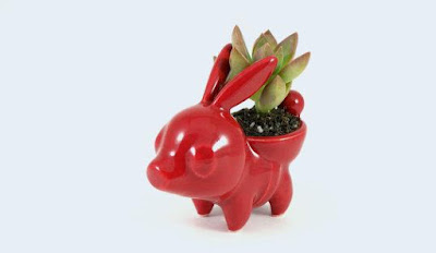 Tepig Ceramic Planter