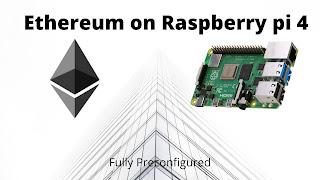 Ethereum on Raspberry pi 4 (4 or 8 GB RAM)