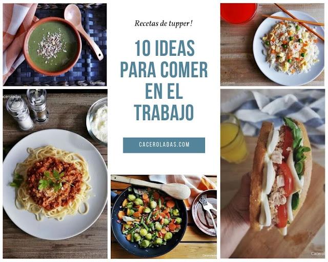 10 ideas para comer en el trabajo como en casa