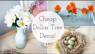 Spring Decor 2016 | Cheap Dollar Tree DIY Ideas