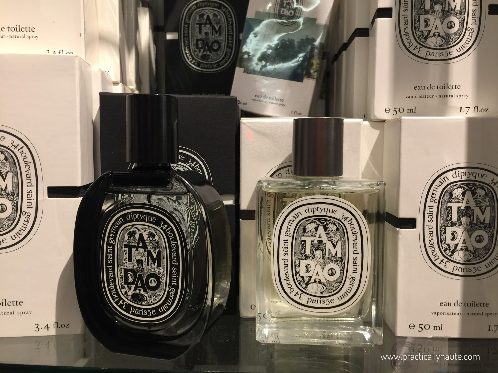 Diptyque sample sale Tam Dao fragrance