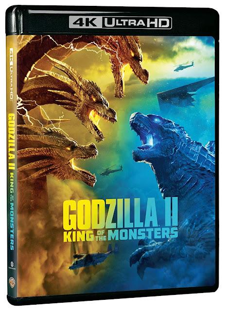 Godzilla II: King of the Monsters 4K