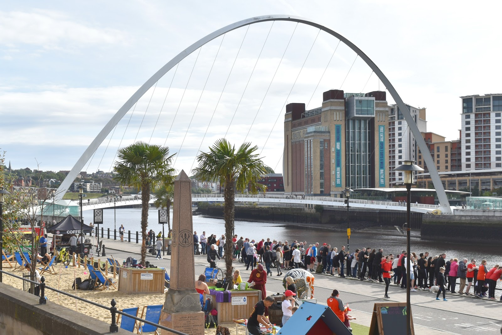 The Toon Tour - Exploring Newcastle and Gateshead - Quayside