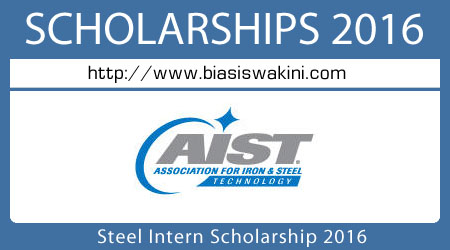 Steel Intern Scholarship 2016