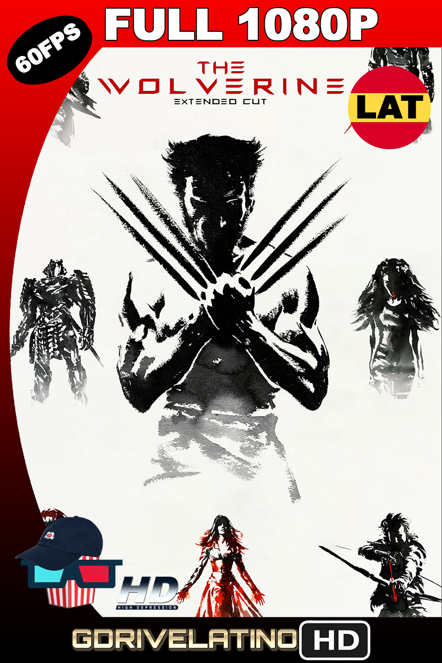 The Wolverine (2013) EXTENDED CUT BDRip 1080p (60fps) Latino-Ingles MKV