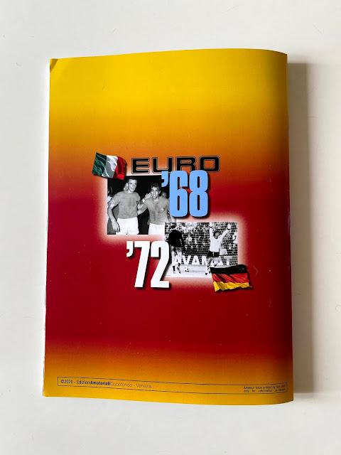 Quarta di Copertina Album Euro 68 Euro 72 Qubotondo