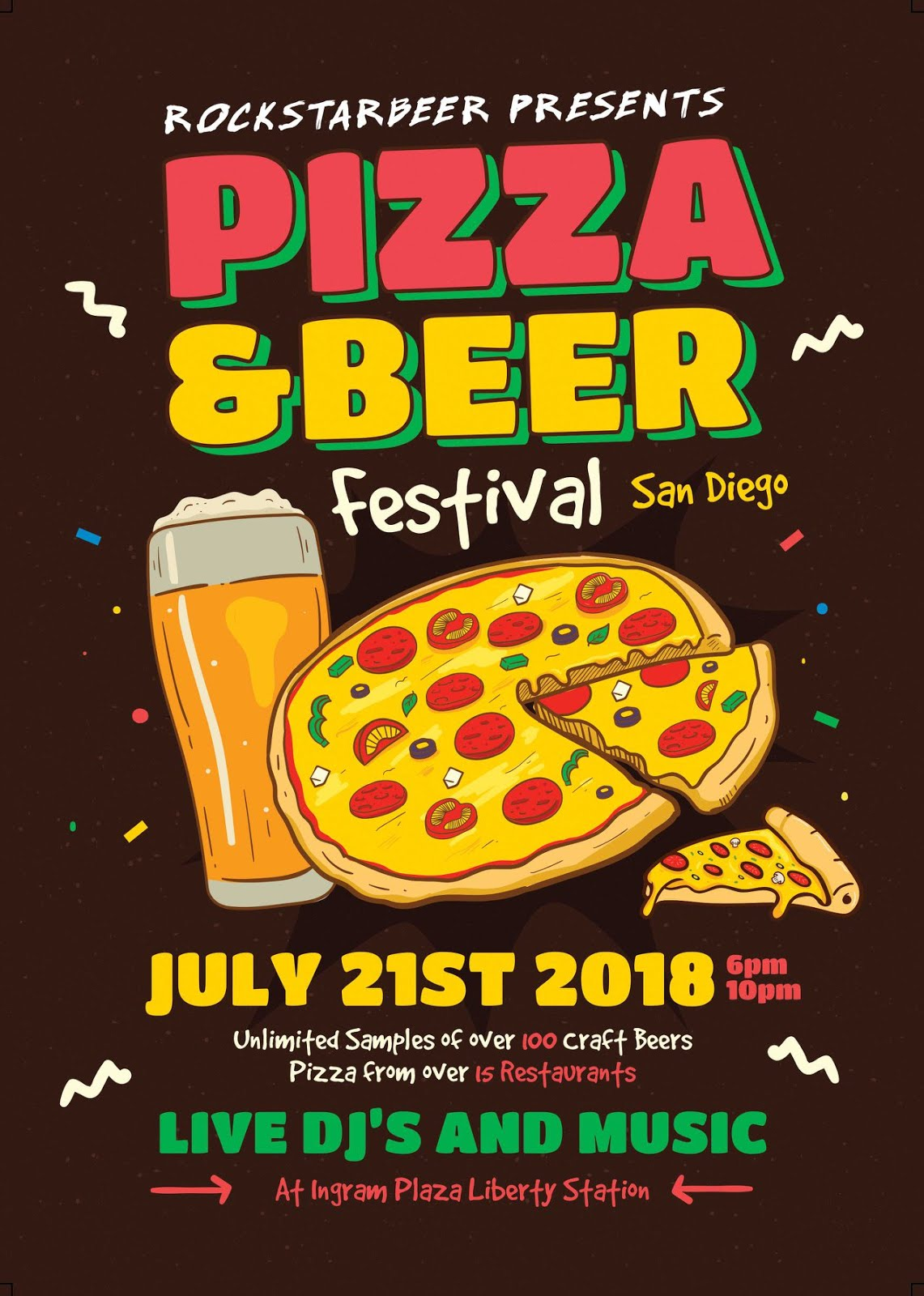 Save on passes & Enter to win VIP tickets to the San Diego Pizza & Beerfest - July 21!