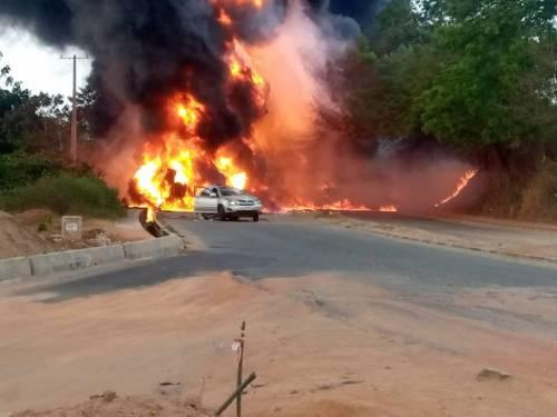 One Dead, Vehicles Burnt In Ogun Tanker Explosion