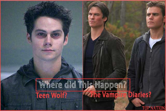 Can You Tell if This Happened in The Vampire Diaries Or Teen Wolf?
