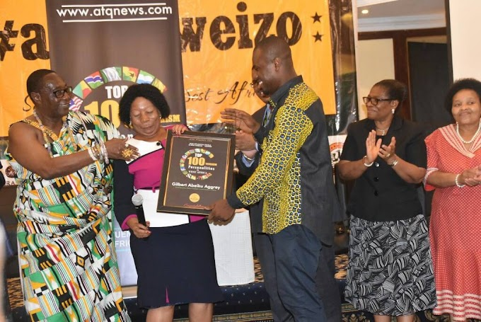 Abeiku Santana inducted in to the International Association of Travel and Tourism Professionals