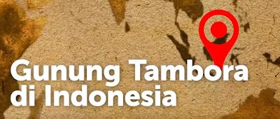 Pada 1815 gunung Tambora di Indonesia mengalami letusan terdahsyat sepanjang sejarah manusia
