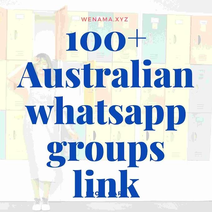 100+ Australia Whatsapp Group Links List 2020