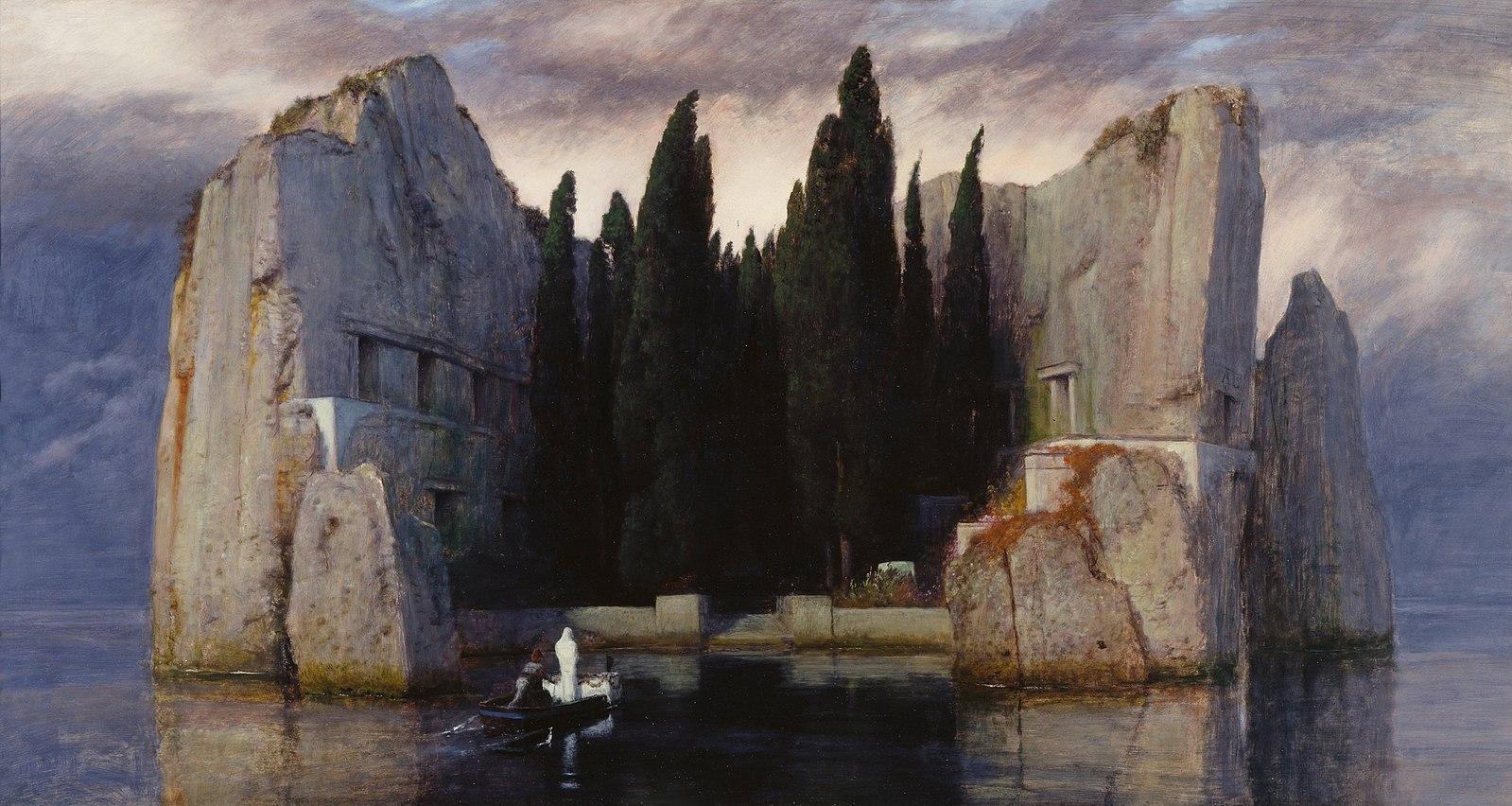 A Ilha dos Mortos, de Arnold Böcklin