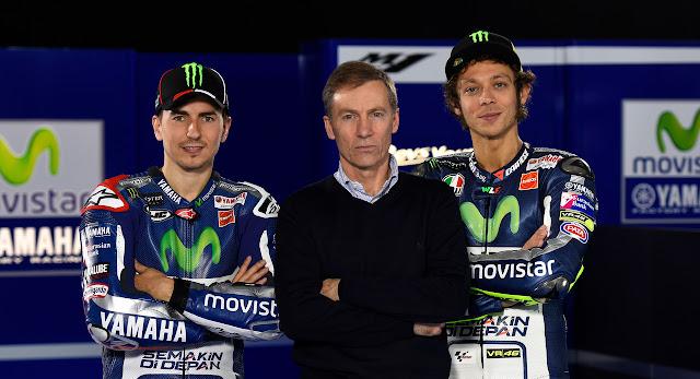 Bos Yamaha : Demi Tim, Rossi-Lorenzo Harus Bersatu