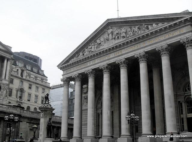 la city de Londres, una ruta por el Distrito Financiero