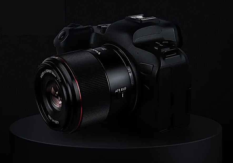 объектив Yongnuo YN 35mm f/2R DF DSM с камерой Canon