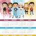 Friends Free Printable 2021 Calendar.