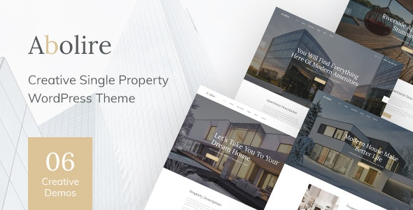 [Download] Abolire - Single Property WordPress Theme