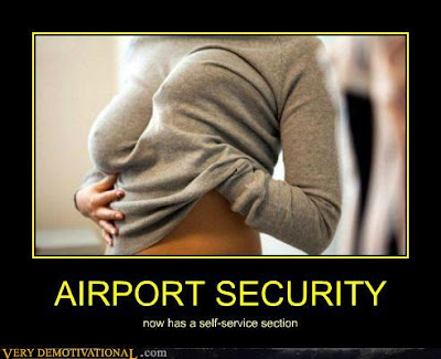 Meanwhile at airport security