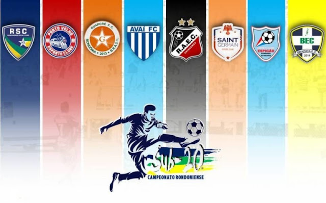 Campeonato Rondoniense Sub-20 está previsto para iniciar no dia 10 de julho