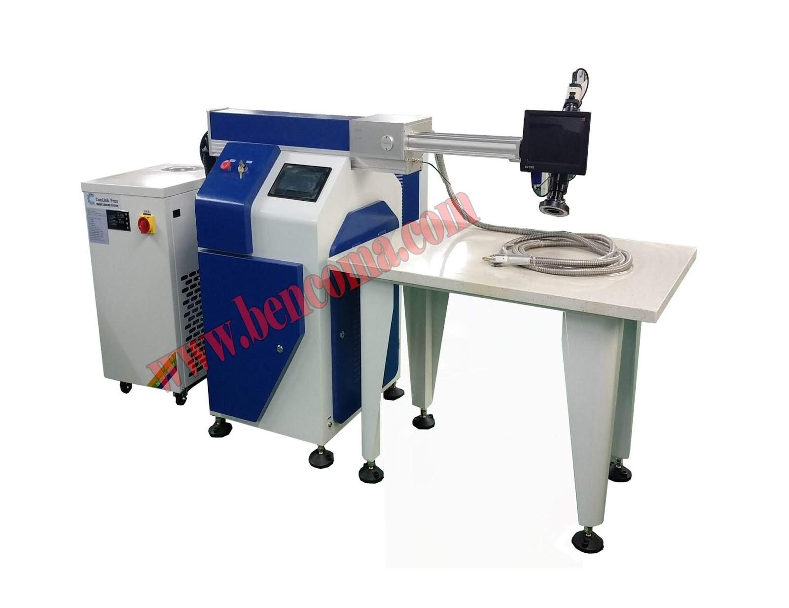Cnc Machine A Souder Au Laser Portative Machine De Fibre Optique