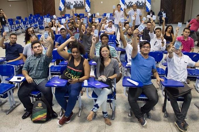 Estudante Luzivan Costa, Ciências Biológicas-UFMA, é eleito Diretor do DCE em Chapadinha.