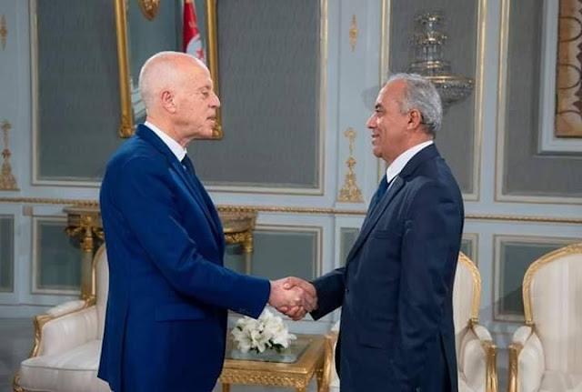 رئيس الحكومة يطلب من رئيس الجمهورية قيس سعيد مهلة اضافية لتشكيل الحكومة