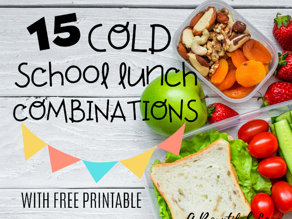 15 Back to School Easy Lunch Ideas