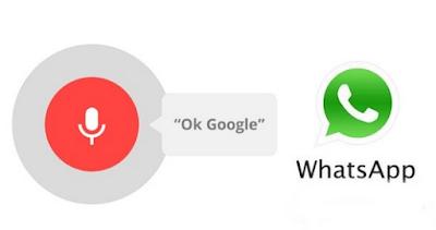 Cara Ok Google kirim pesan whatsapp, begini langkahnya