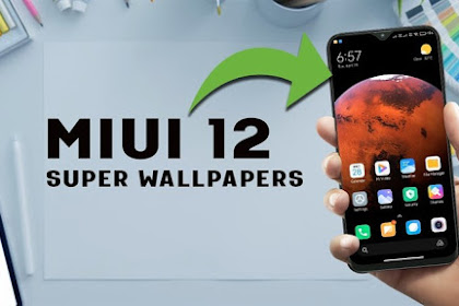Cài bộ hình nền Super Wallpaper Miui 12 lên smartphone android khác