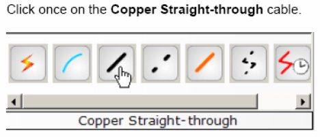 Copper Straight-through cable