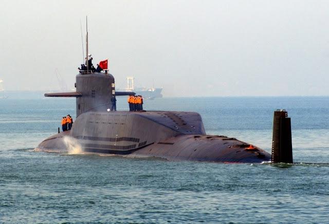 Resultado de imagen de submarino de misiles balísticos (SLBM) del Tipo 094