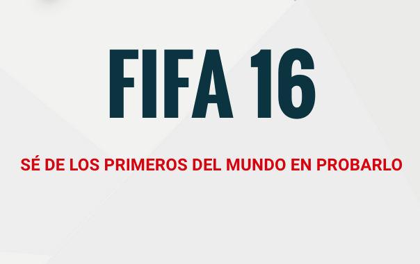 FIFA 16 en Gamergy