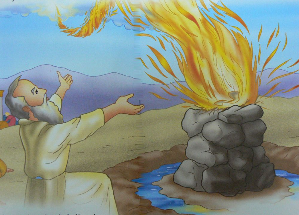 filmes cristão católico profeta elias desenho bíblico