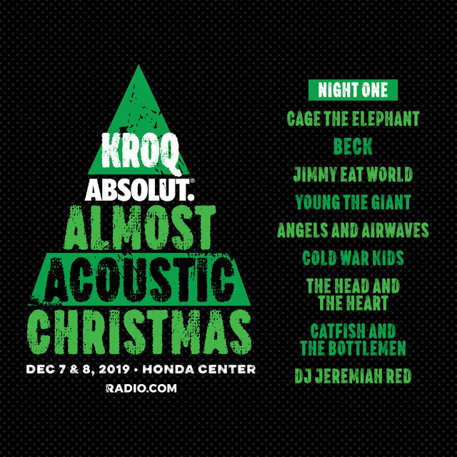 Cage The Elephant and Beck announced for KROQ Absolut Almost Acoustic Christmas Night 1