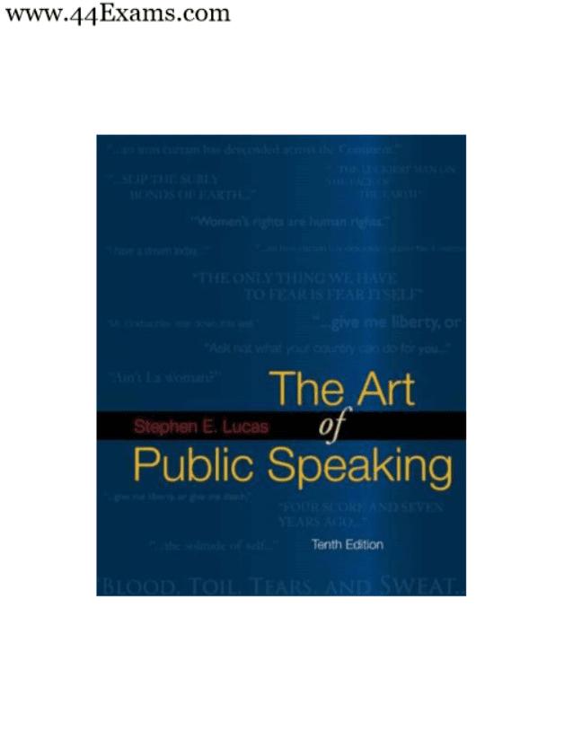 The-Art-of-Public-Speaking-by-Stephen-E-Lucas-PDF-Book