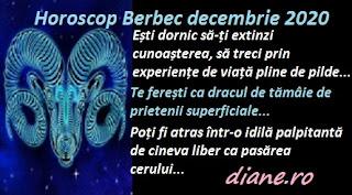 Horoscop Berbec decembrie 2020