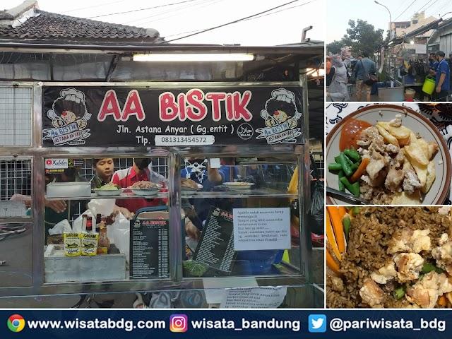 AA Bistik Astana Anyar, Kuliner Malam Legendaris di Bandung