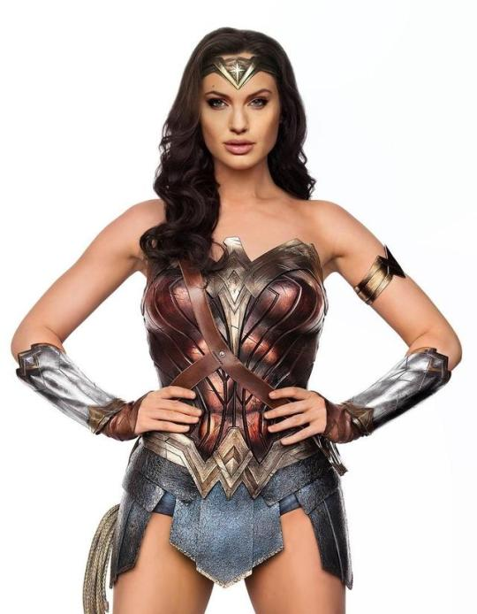 Angelina Jolie as Wonder Woman