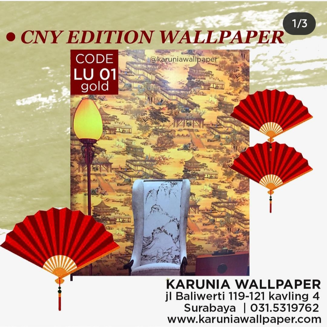 jual wallpaper dinding ala cina oriental