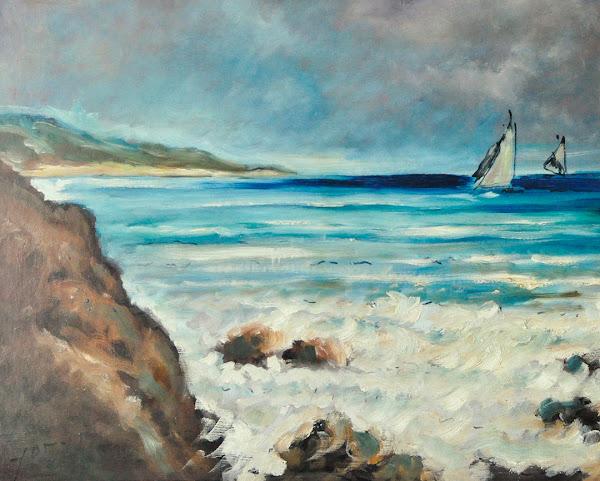Escena de mar