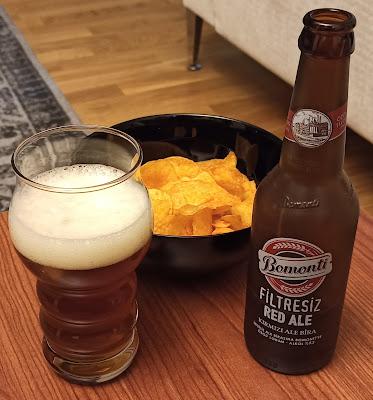 Bomonti Filtresiz Red Ale Bira Değerlendirmesi ve Bomonti Bira Fabrikası