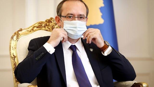 Koronavírus-fertőzött lett Koszovó miniszterelnöke, amit ő maga jelentett be vasárnap