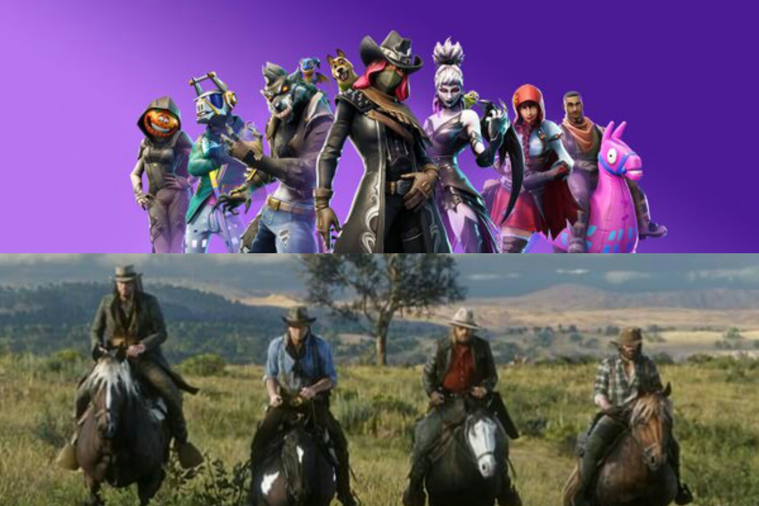 fortnite beats Red Dead Redemption 2 for Ultimate Game Of The Year at Golden Joystick Awards