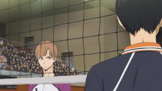 ハイキュー!! アニメ 3期3話 白布賢二郎   Karasuno vs Shiratorizawa   HAIKYU!! Season3