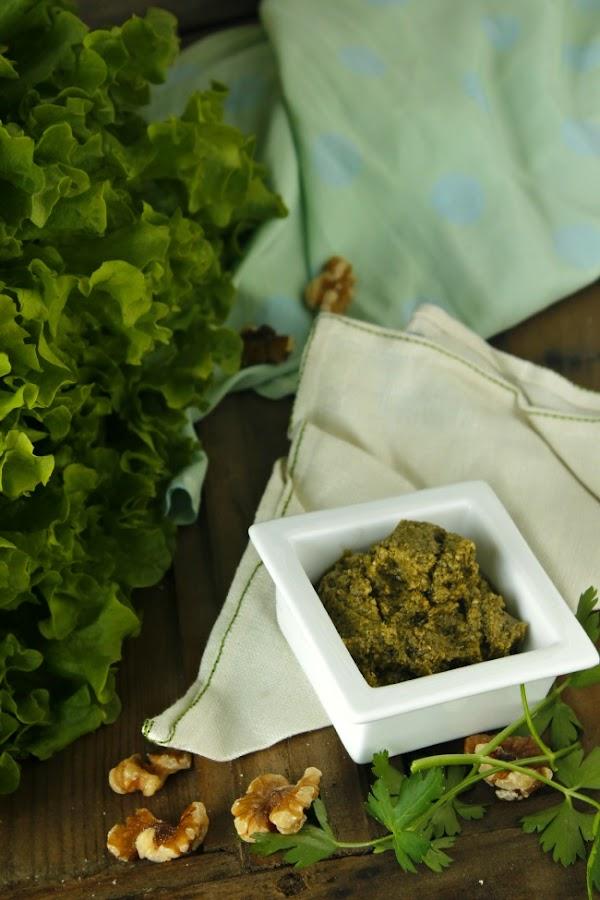 Pesto. Canelones de salmón ahumado con pesto. http://www.maraengredos.com/